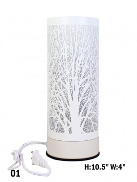 Branch Cut-out Cylinder Table Light