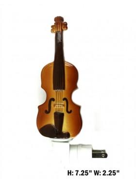 Porcelain Violin Night Light