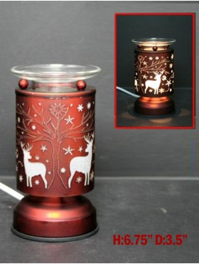 Copper CX Deer Touch Table Lamp