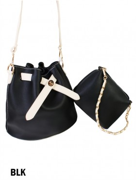 2 in 1 Bucket Shape Crossbody Bag