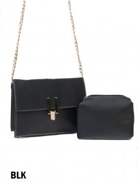 Premium Faux Leather Crossbody Bag