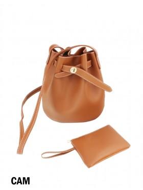 2 in 1 Bucket Shape Crossbody Bag