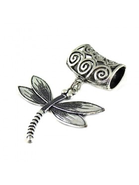 SCARF PENDANT DRAGONFLY