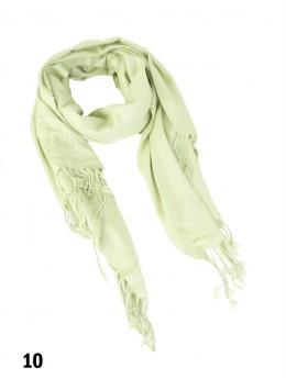 Solid Silk Blend Pashmina
