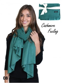 SOLID CASHMERE PASHMINA SCARF