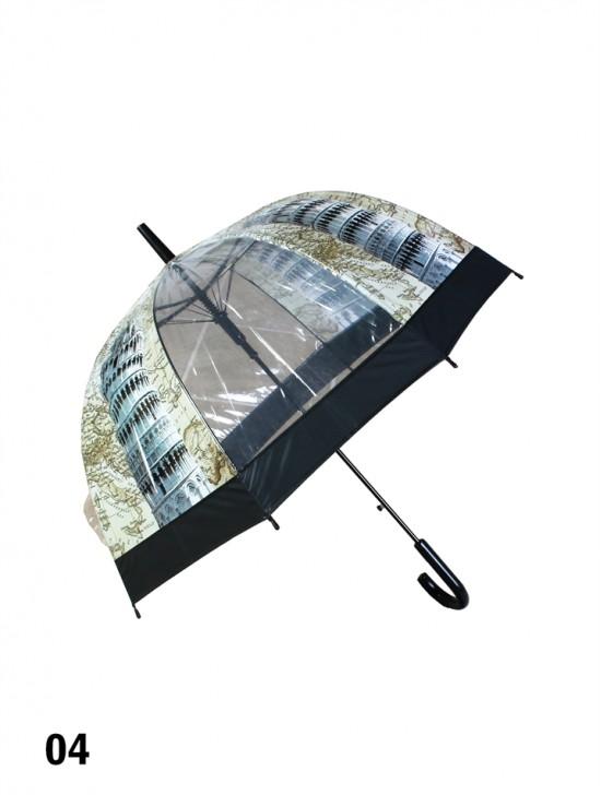 Italy Print Stick Umbrella