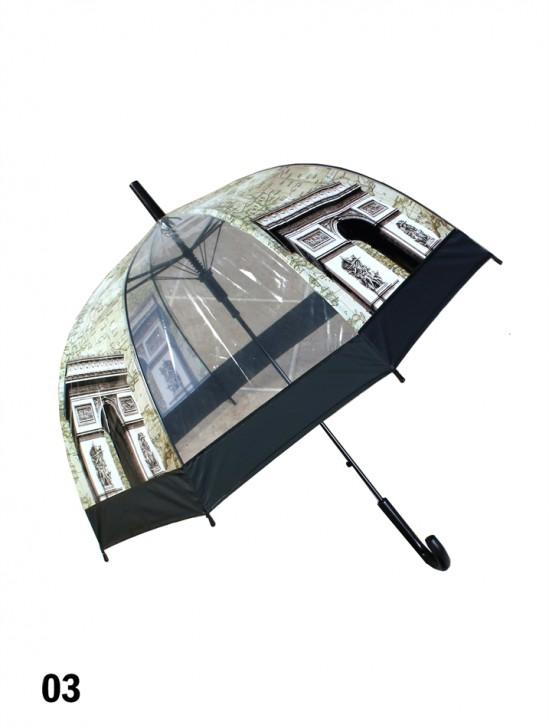 Paris, Arch of Triumph Print Stick Umbrella