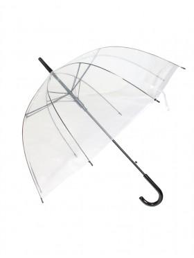 Clear Transparent Rain Umbrella