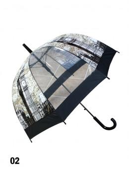 London, Big Ben Print Stick Umbrella