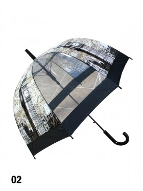 London, Big Ben Print Stick Umbrella