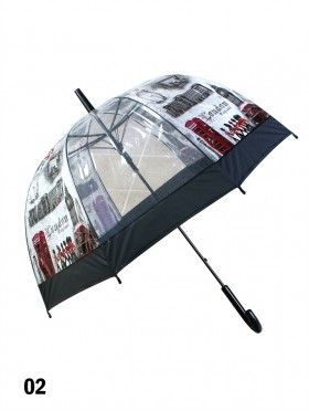 London Bridge Print Stick Umbrella