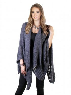 Open Knitted Cape