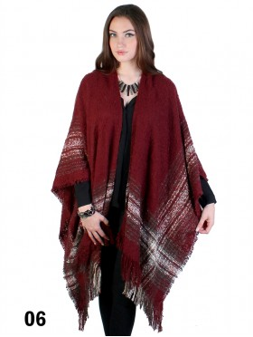 Plaid Plush Cape